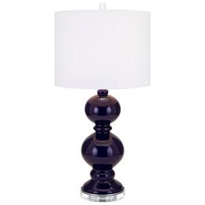 IMAX Worldwide Home Lighting Barlow Glass Table Lamp