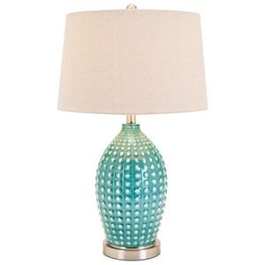 IMAX Worldwide Home Lighting Adaline Ceramic Table Lamp