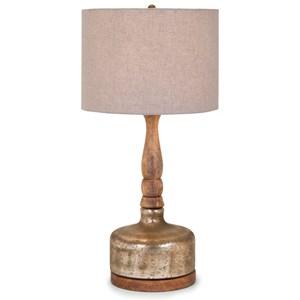 IMAX Worldwide Home Lighting Mairi Glass Lamp