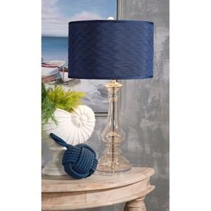 IMAX Worldwide Home Lighting Starboard Glass Lamp