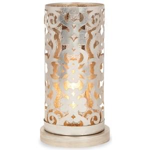 IMAX Worldwide Home Lighting Landry Hurricane Table Lamp