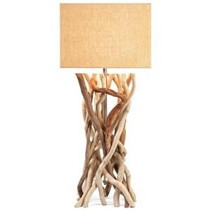 IMAX Worldwide Home Lighting Explorer Driftwood Table Lamp