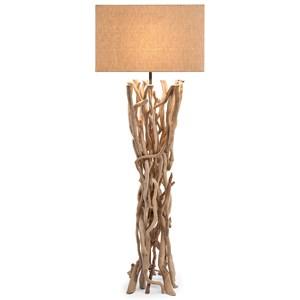 IMAX Worldwide Home Lighting Explorer Driftwood Floor Lamp