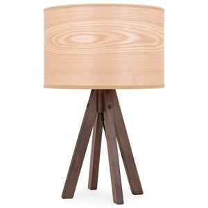 IMAX Worldwide Home Lighting Meridian Wood Table Lamp