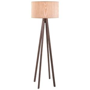 IMAX Worldwide Home Lighting Meridian Wood Floor Lamp
