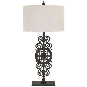 IMAX Worldwide Home Lighting Watson Cast Iron Table Lamp