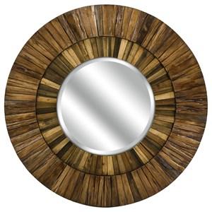 IMAX Worldwide Home Mirrors Klein Wood Mirror