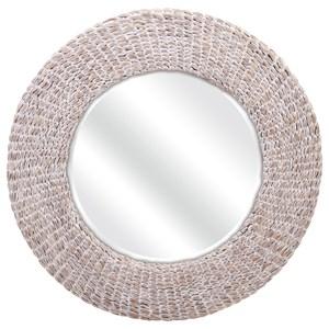 IMAX Worldwide Home Mirrors Madiera Waterhyacinth Wall Mirror