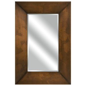 IMAX Worldwide Home Mirrors Spier Copper Plated Mirror