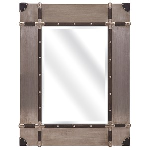 IMAX Worldwide Home Mirrors Baker Aluminum Clad Mirror