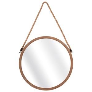 IMAX Worldwide Home Mirrors Rally Wood Mirror