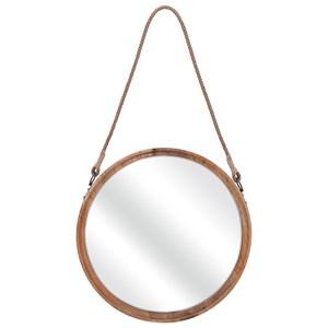 IMAX Worldwide Home Mirrors Senga Large Wood Mirror