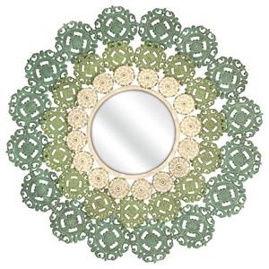 IMAX Worldwide Home Mirrors Mcguire Medallion Mirror