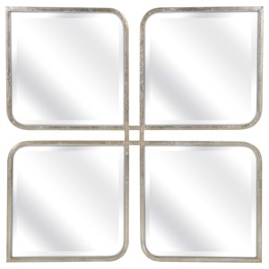 IMAX Worldwide Home Mirrors Mia Silver Mirror