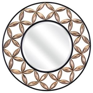 IMAX Worldwide Home Mirrors Gradon Metal Mirror