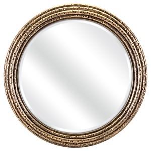 IMAX Worldwide Home Mirrors Oralia Gold Mirror