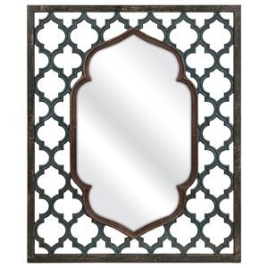 IMAX Worldwide Home Mirrors Aidan Rectangular Wall Mirror