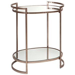 IMAX Worldwide Home Mirrors Ancona Mirror Accent Table