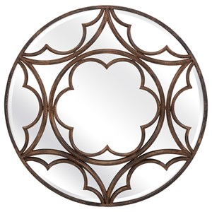 IMAX Worldwide Home Mirrors Nadine Metal Wall Mirror