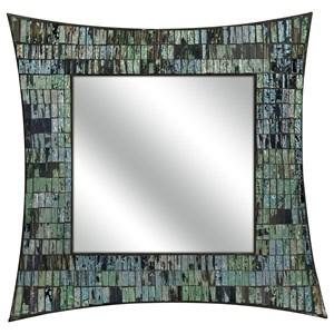 IMAX Worldwide Home Mirrors Aramis Mosaic Glass Wall Mirror