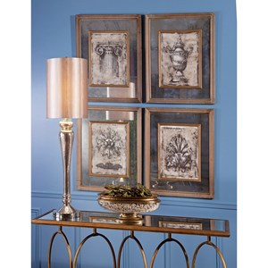 Cordele Mirror Wall Decor - Ast 4