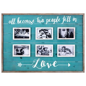 IMAX Worldwide Home Picture Frames Love Collage Wall Frame
