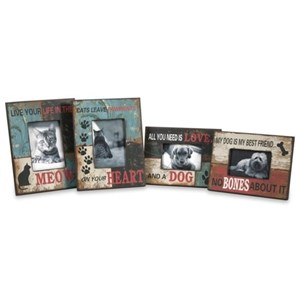 IMAX Worldwide Home Picture Frames Dog and Cat Photo Frames