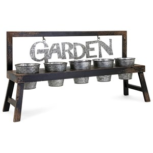 IMAX Worldwide Home Pots and Planters Grow Your Garden Planter