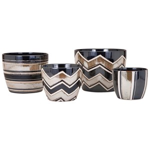 IMAX Worldwide Home Pots and Planters Arden Planters - Set of 4