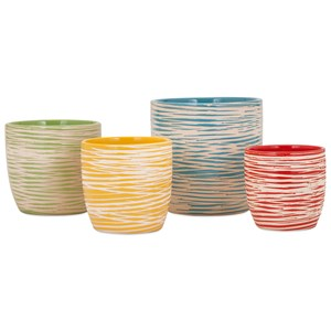 IMAX Worldwide Home Pots and Planters Garin Planters - Set of 4