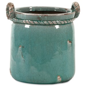 IMAX Worldwide Home Pots and Planters Arctic Small Planter