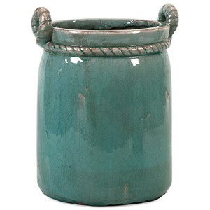 IMAX Worldwide Home Pots and Planters Arctic Large Planter