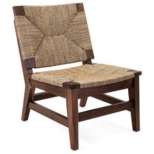 IMAX Worldwide Home Seating Nakoda Woven Side Chair