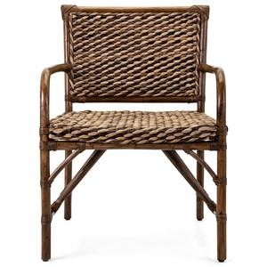 IMAX Worldwide Home Seating Boracay Rattan Arm Chair