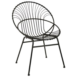 IMAX Worldwide Home Seating Reserve Iron Chair