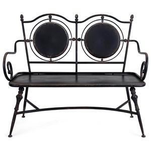 IMAX Worldwide Home Seating Beric Metal Bench
