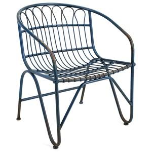 IMAX Worldwide Home Seating Layton Metal Arm Chair