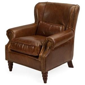 IMAX Worldwide Home Seating Lambert Leather Club Chair