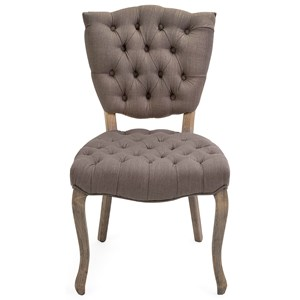 IMAX Worldwide Home Seating Addison Tufted Occasional Chair