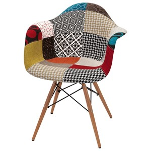 IMAX Worldwide Home Seating Nadine Retro Accent Chair