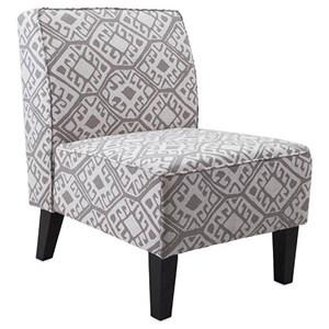 IMAX Worldwide Home Seating Simba Armless Chair