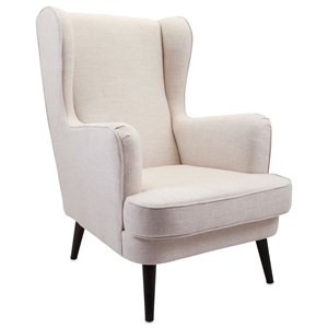 IMAX Worldwide Home Seating Knox Wingback Chair