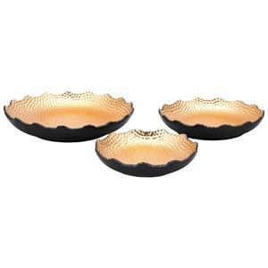 IMAX Worldwide Home Trays, Plates, and Platters Nova Decorative Trays - Set of 3