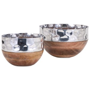 IMAX Worldwide Home Trisha Yearwood Persimmon Serving Bowls