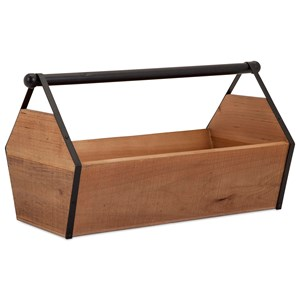 IMAX Worldwide Home Trisha Yearwood Honeybee Wood Caddy