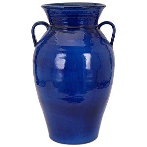 IMAX Worldwide Home Trisha Yearwood Honeybee Blue Vase