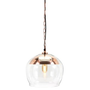 IMAX Worldwide Home Trisha Yearwood Songbird Copper Finish Pendant Light