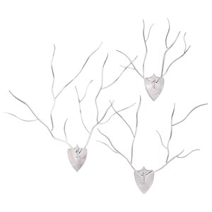 IMAX Worldwide Home Trisha Yearwood New Frontier Wall Antlers - Set of 3