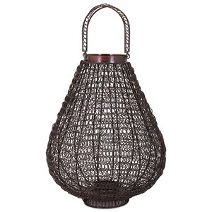 IMAX Worldwide Home Trisha Yearwood Persimmon Large Lantern