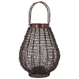 IMAX Worldwide Home Trisha Yearwood Persimmon Small Lantern